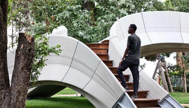 3D-geprinte betonnen brug heeft geen versterkingen nodig