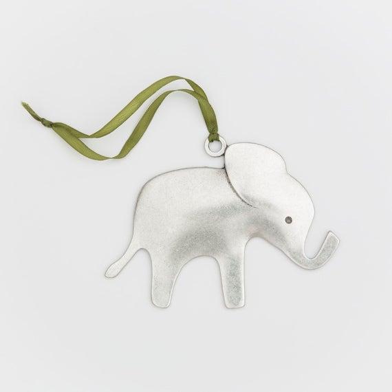 gepersonaliseerd olifantenornament door BeehiveHandmadeLLC
