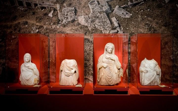 Het Louvre mag geen verhandelde oudheden uit Libië en Syrië tentoonstellen