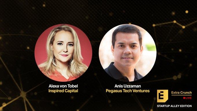 Hoor hoe Startup Alley-bedrijven deskundige VC-juryleden pitchen in komende afleveringen van Extra Crunch Live