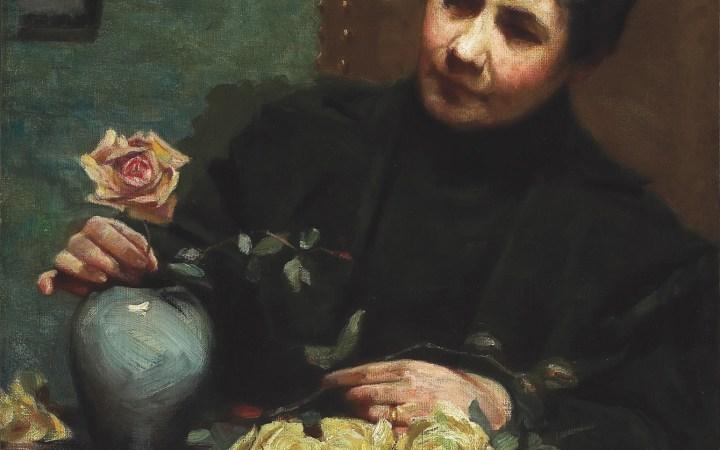 Een vergeten vrouwelijke bloemenschilder, nieuw leven ingeblazen