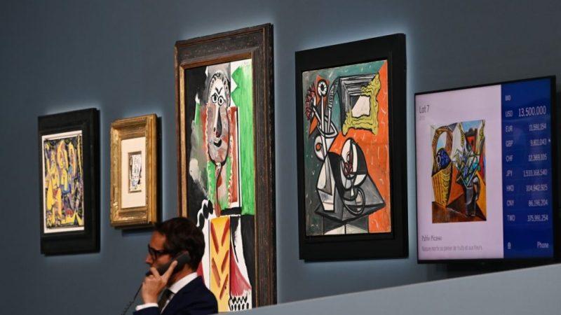 Picasso-veiling bij MGM Casino levert meer dan $ 100 miljoen op.