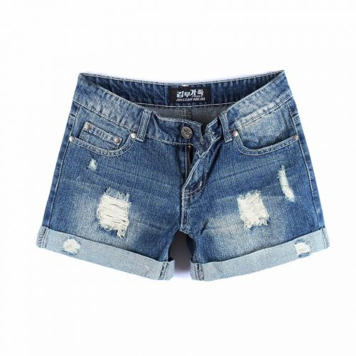 korean-blue-jean-shorts-for-women