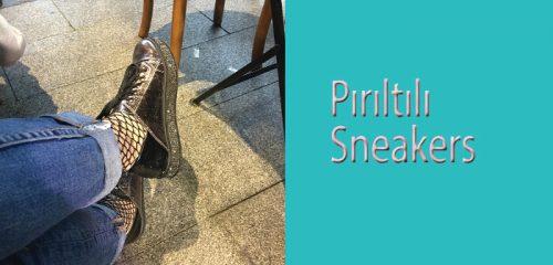 Pırıltılı Sneakers-Irmak Ayakkabı