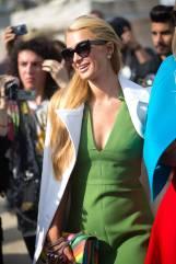 Paris Hilton in Valentino