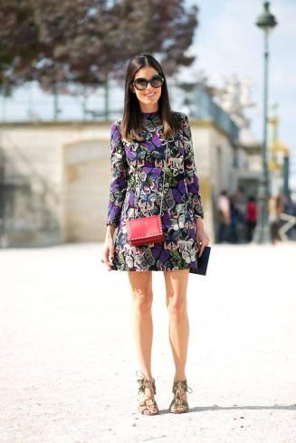 Valentino dress and bag