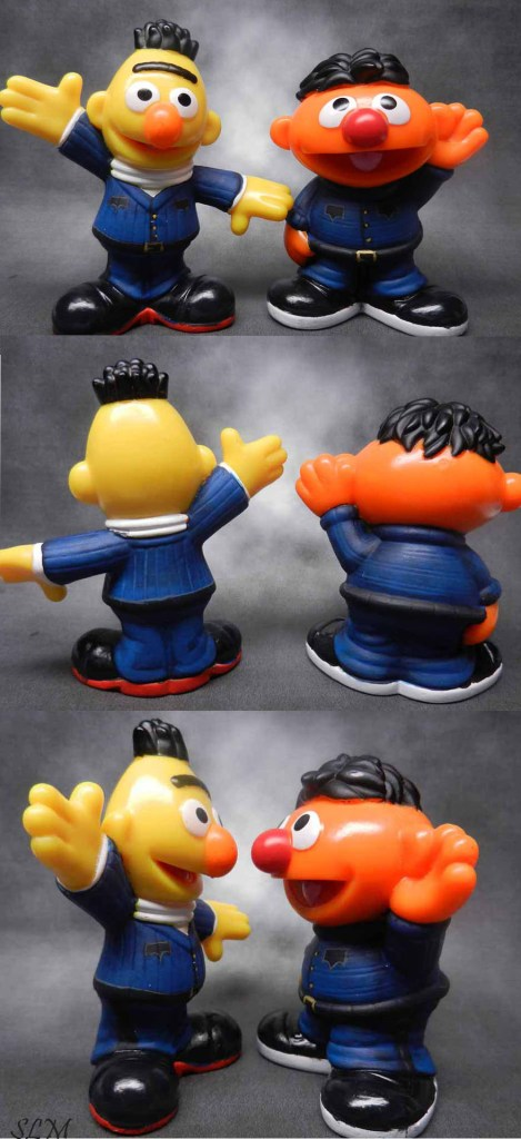 Bert and Ernie Officers