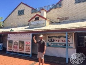 Matt at Sun Pictures, Broome