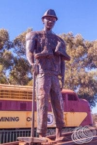Monument to the miners
