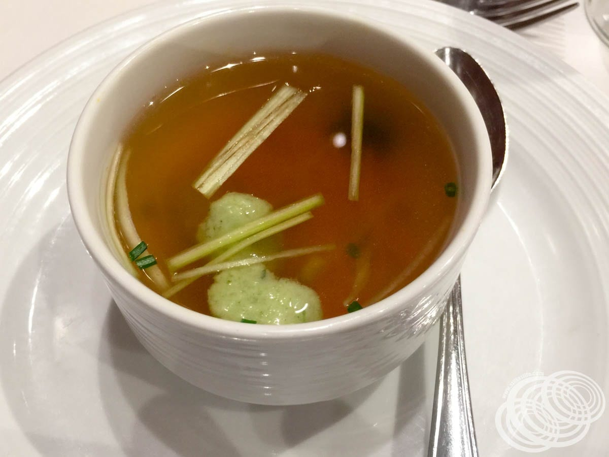 Double-Boiled Chicken Consomme