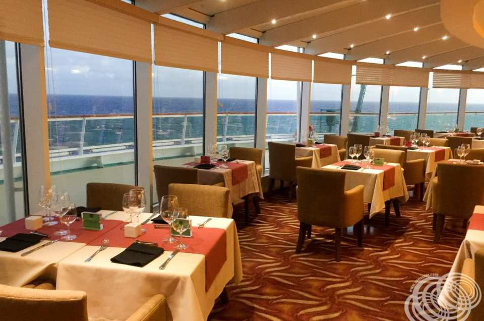 Speciality Dining at Samba Grill on Royal Caribbean's Radiance of the Seas