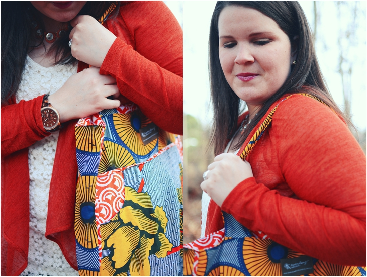 Fashion | Crochet tunic, lace me together cardigan, Noonday Collection Charlotte's Bag