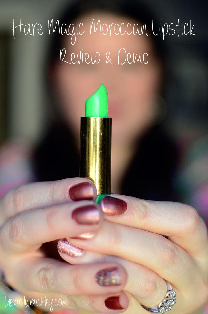 BEAUTY | Hare Magic Moroccan Lipstick Review & Demo