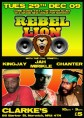 Rebel Lion Sound with Kingjay, Jah Mirikle & Chanter