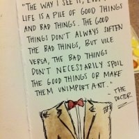 Life Is A Pile Of Good And Bad Things