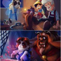 Grumpy Disney By TsaoShin