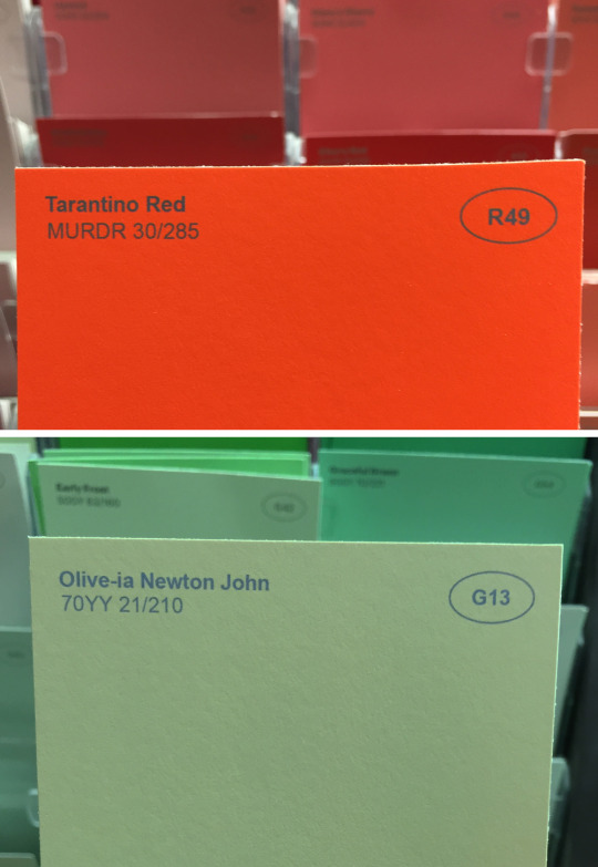 I Renamed Some of the Paint Colors at the Hardware Store