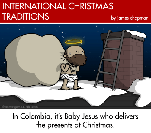 Weird and Interesting International Christmas Traditions You Don't Know About