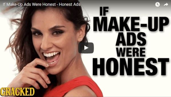 A Clever Parody Showing Why Makeup Never Looks the Same Way at Home as It Does on Commercials