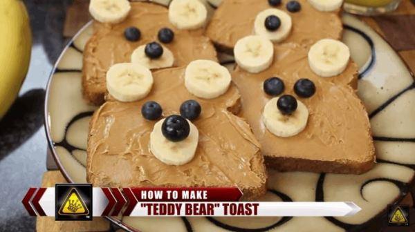 'Teddy Bear' Toast