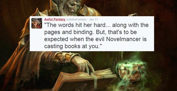 Parody Excerpts FromFantasy Novels
