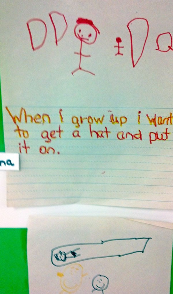 Kids Who Have Funny Life Goals