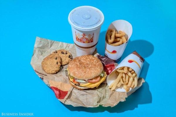 Burger King – 2,990 Calories
