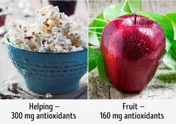 Popcorn is unhealthy