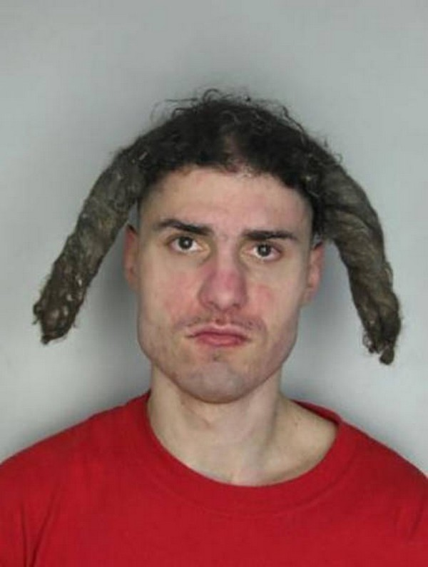 26 Most Unfortunate Haircuts from Mug Shots