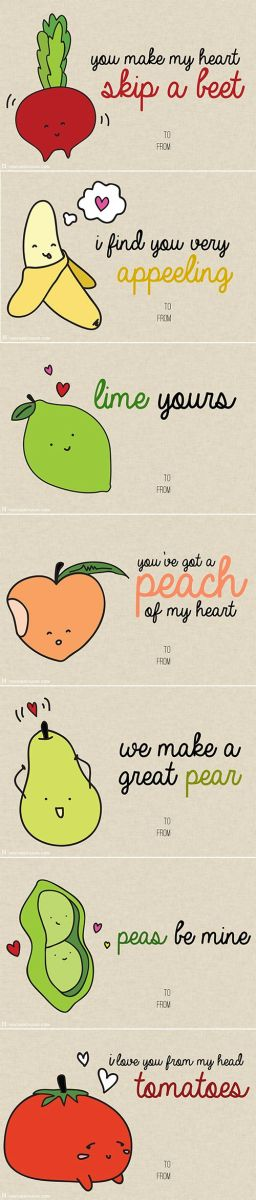 Food Puns By Heather Chang