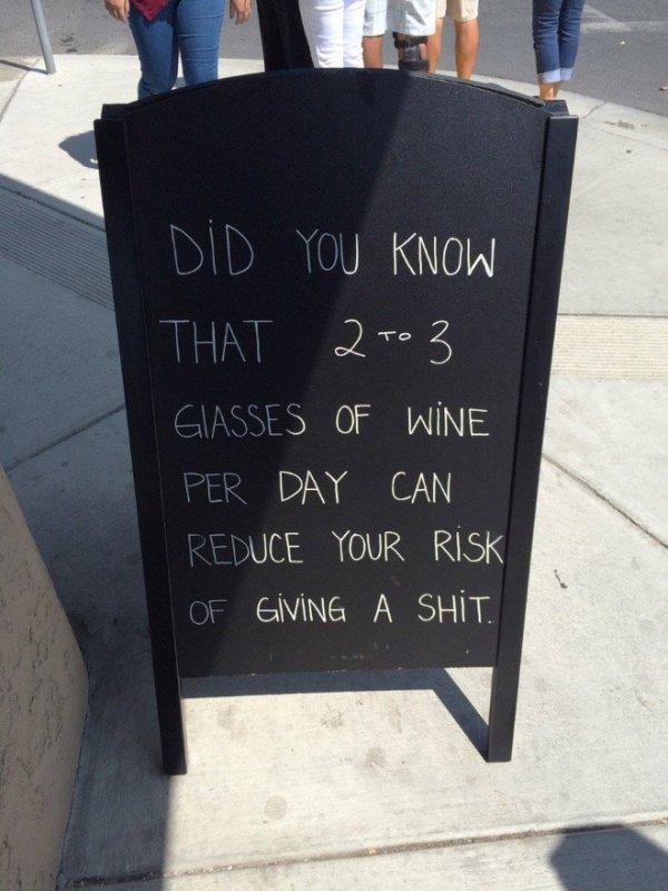 Funny Chalkboards