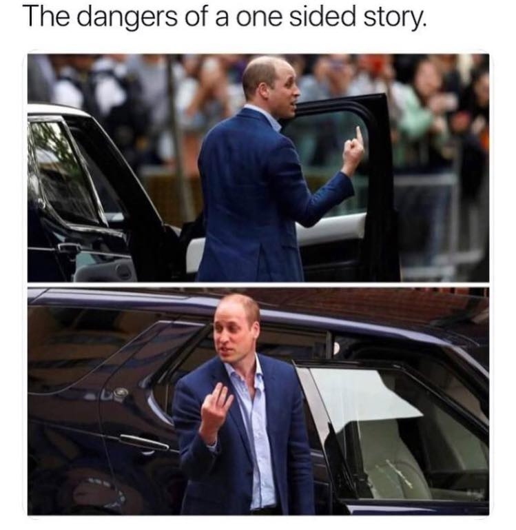 There Are Always 2 Sides To A Story