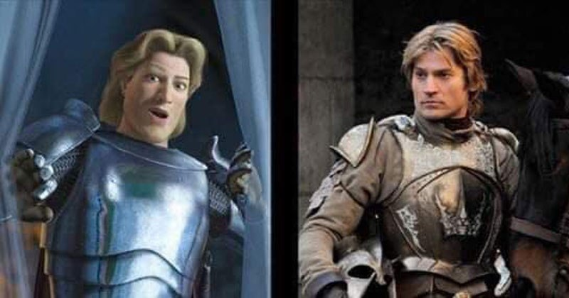 11 Comparisons That Proves Game of Thrones is Just Live-Action Shrek
