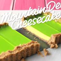 Amazingly Unique Mountain Dew Cheesecake