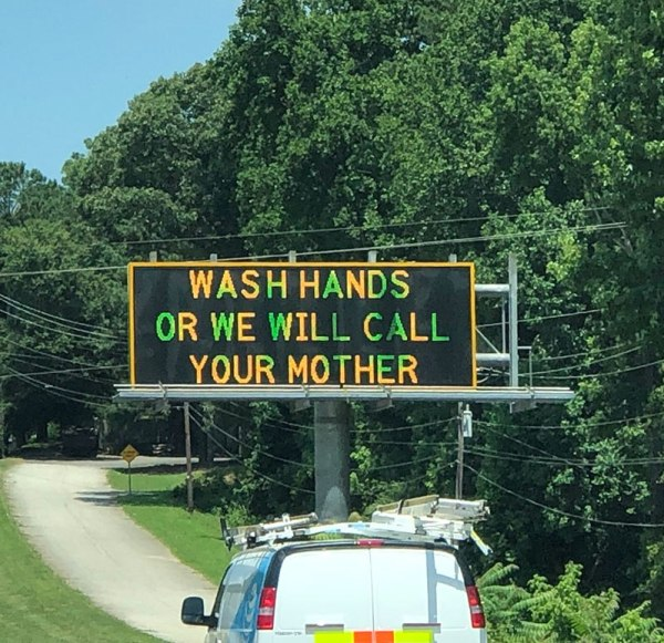 Funny Covid signs