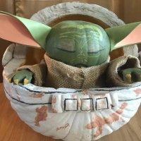 The Most Cutest Baby Yoda Pumpkin