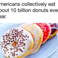 Americans Eat 10 Billion Donuts a Year!