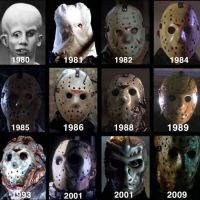 Jason Voorhees Over The Years