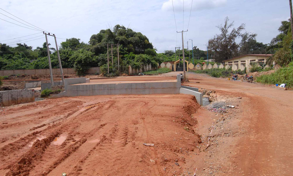 Completed Box Culvert