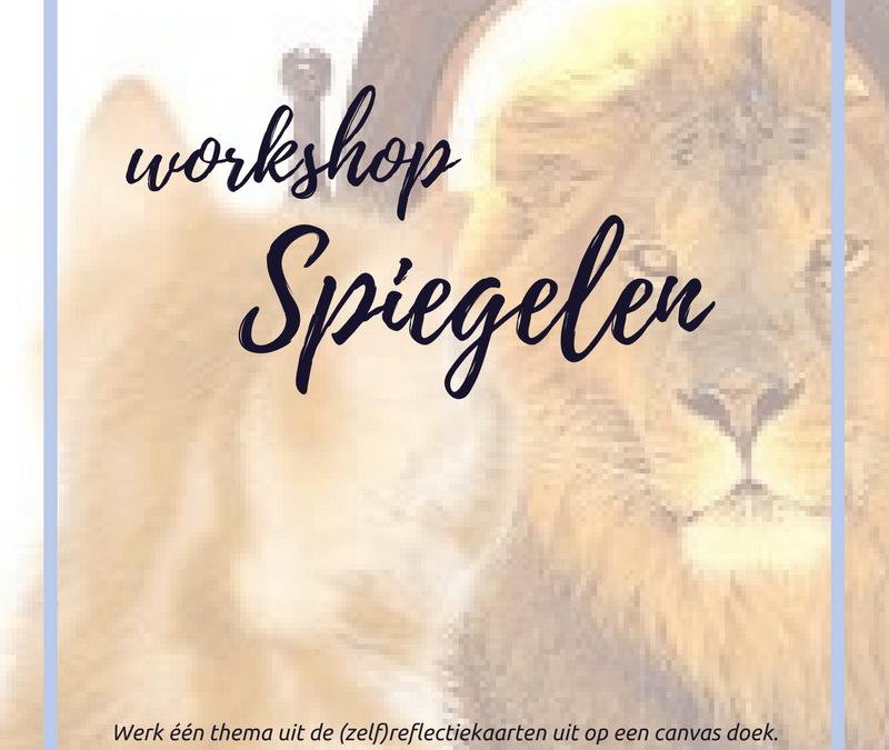 workshop 'Spiegelen'