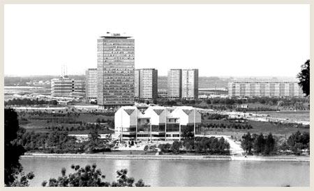 Museum of Modern art in Belgrade