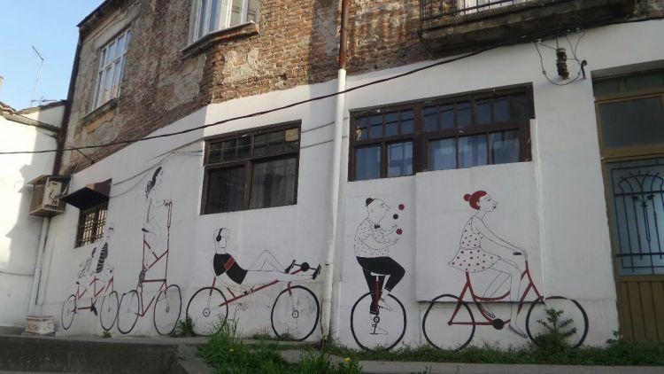 graffiti in savamala