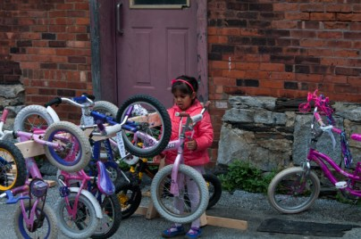 Finding the perfect bike (which just happens to be pink)