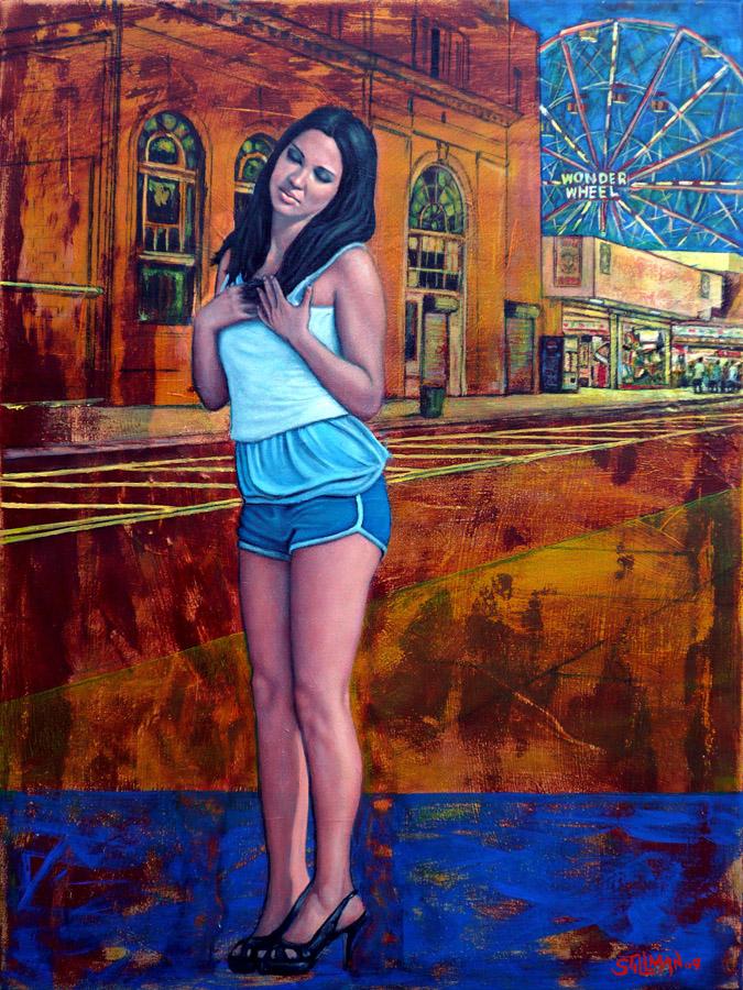 """Coney Island Girl #2"", (Sold)"