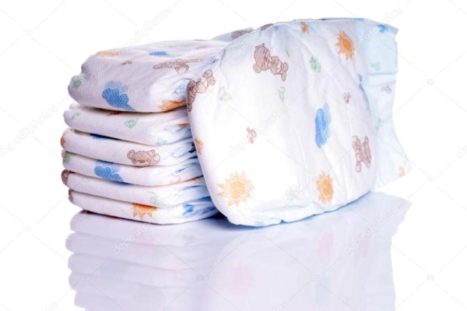Non Recyclable Baby Diapers