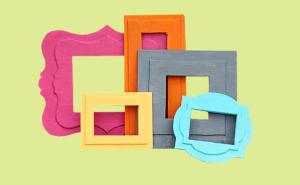 Craft Foam Board Frames
