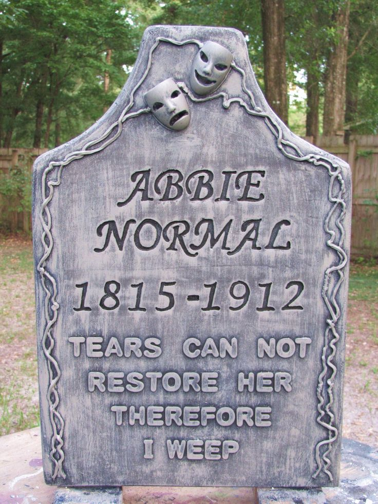 Craft Foam Tombstone