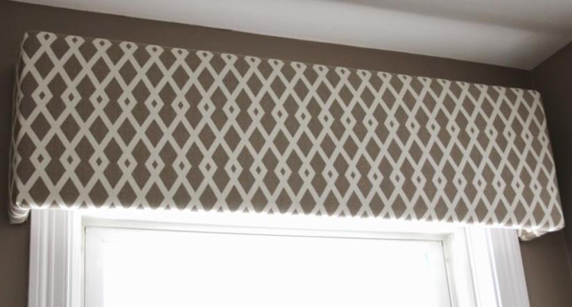 Craft Foam Window Valance