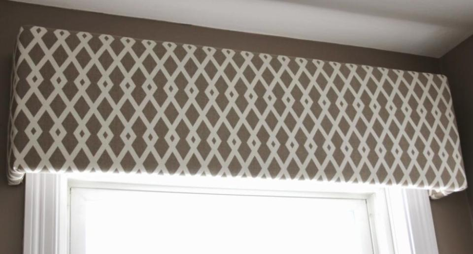 Craft Foam Window Valance