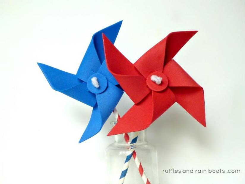Craft Foam Pinwheel